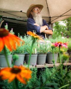 Farmer's Market Man