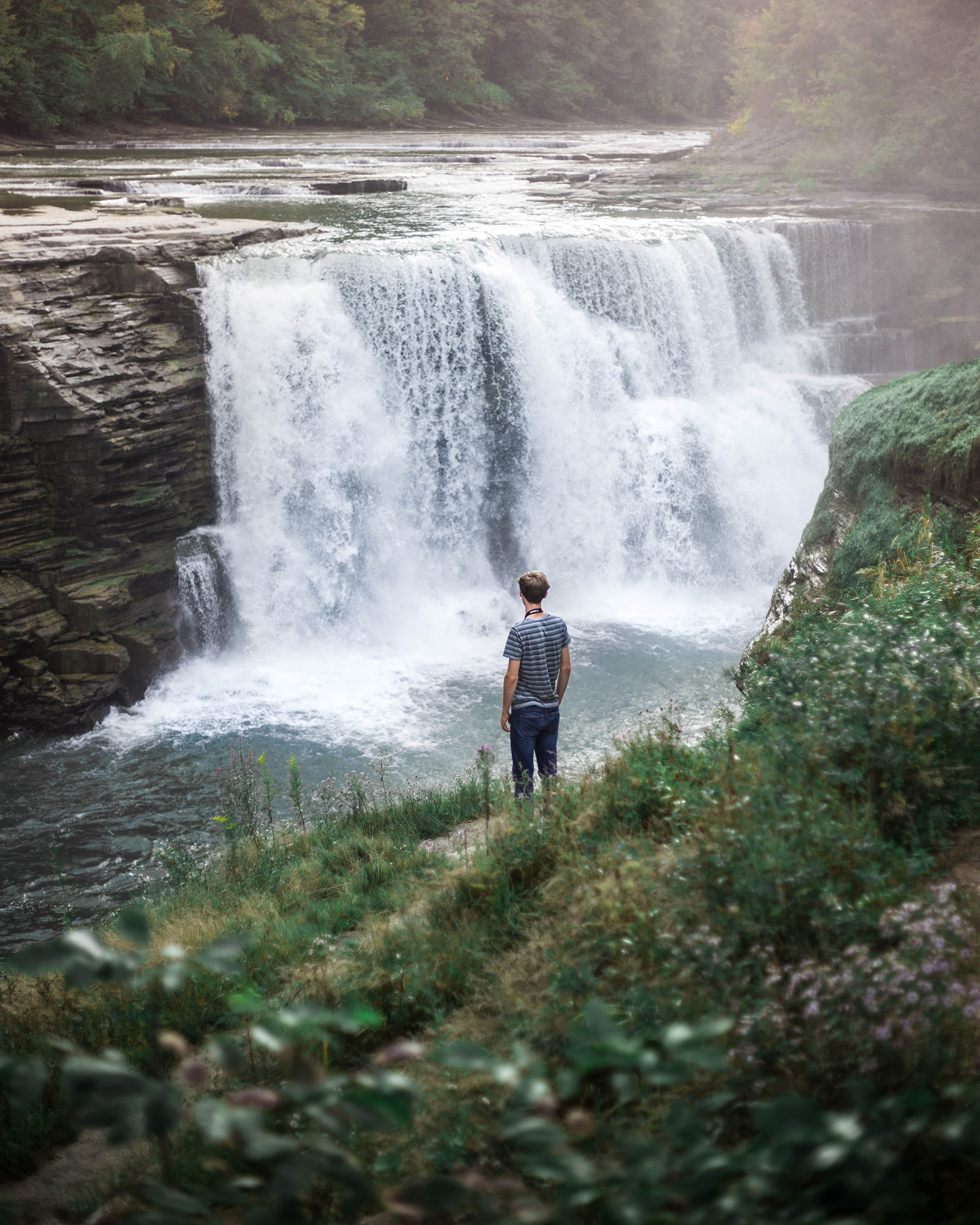 Letchworth Lower Falls Ft. Joel